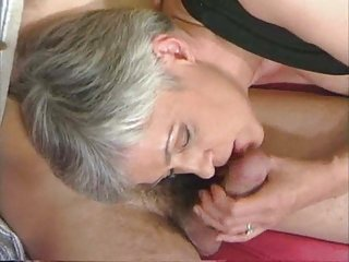 Facial porn videos old and young amateur can't swallow cum